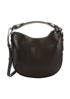 Givenchy black leather 'Obsedia' small studded hobo