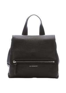 Givenchy black leather 'Pandora Pure' medium convertible top handle bag