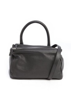 Givenchy black leather 'Pandora' small convertible bag