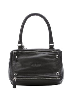 Givenchy black leather 'Pandora' small convertible bag