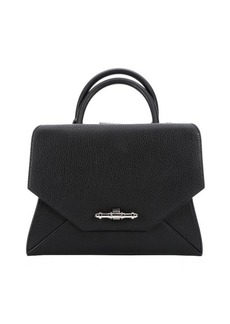 Givenchy black leather small 'Obsedia' convertible tote bag
