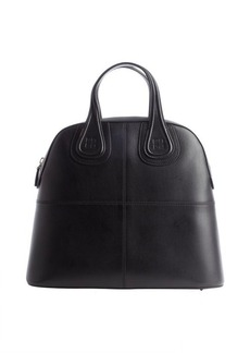 Givenchy black leather top handle tote