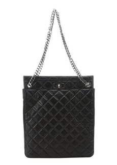 Givenchy black quilted lambskin chain detail bag