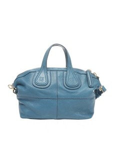 Givenchy blue leather 'Nightingale' mini convertible bag