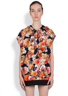 Givenchy Butterfly & Flower Sweatshirt Vest