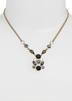 Givenchy Cluster Pendant Necklace