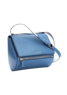 Givenchy cobalt leather 'Pandora Box' shoulder bag