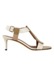 Givenchy Colorblock Geo Pad Sandals