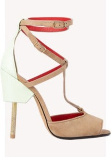 Givenchy Colorblock Marzia T-strap Sandals