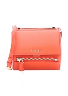 Givenchy coral leather 'Pandora' mini shoulder box bag