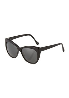 Givenchy Crescent Plastic Sunglasses