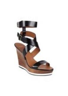 Givenchy Crisscross-Strap Wedge Platform Sandals