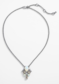 Givenchy Crystal Cluster Pendant Necklace (Nordstrom Exclusive)