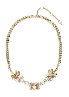 Givenchy Crystal Frontal Necklace (Nordstrom Exclusive)