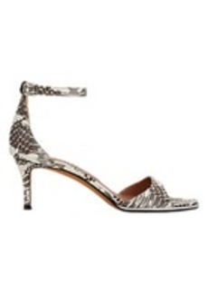 Givenchy Curved-Band Ankle-Strap Sandals