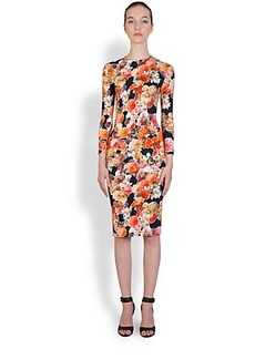 Givenchy Digital-Print Floral Dress
