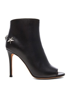 """GIVENCHY <div class=""""product_name"""">Peep Toe Booties with Silver Star Detail</div>"""