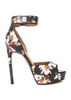 """GIVENCHY <div class=""""product_name"""">Shark Lock Magnolia Leather Heels</div>"""