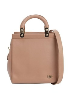 Givenchy dusty pink leather 'HDG' convertible tote