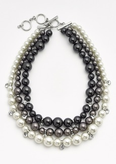 Givenchy Faux Pearl Multistrand Necklace (Nordstrom Exclusive)