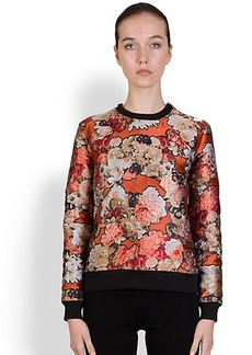 Givenchy Flower-Print Sweatshirt