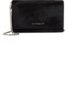 Givenchy Haircalf Pandora Chain-Strap Wallet