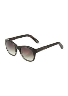 Givenchy Horatio Round Plastic Sunglasses