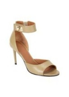 Givenchy Horn Turn Lock Ankle-strap Sandals