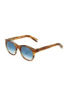 Givenchy Hortatio Translucent Plastic Sunglasses