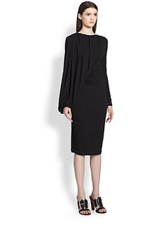 Givenchy Jersey Balloon-Drape Dress