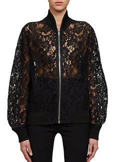 Givenchy Lace Bomber Jacket