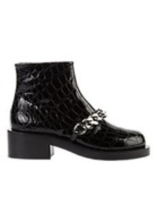 Givenchy Laura Chain-Link Ankle Boots