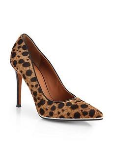 Givenchy Leopard-Print Calf Hair Pumps