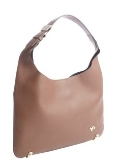 Givenchy light brown leather belt strap shoulder bag and pouchette