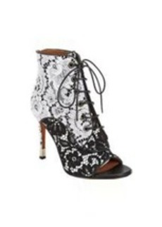 Givenchy Macramé Lace Ankle Boots