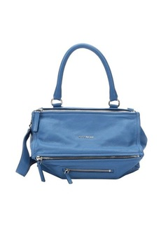 Givenchy medium blue leather double zip one handle convertible tote
