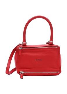 Givenchy medium red goatskin small 'Pandora' convertible top handle bag