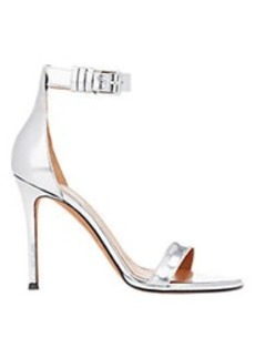 Givenchy Metallic Ankle-Strap Sandals