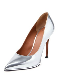Givenchy Metallic Leather Point-Toe Pump