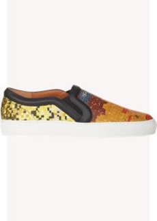 Givenchy Mosaic Pixel Skate Sneakers