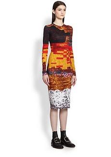 Givenchy Mosaic-Print Dress