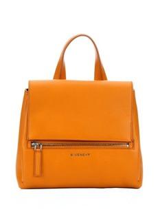 Givenchy mustard leather medium 'Pandora Pure' convertible top handle bag