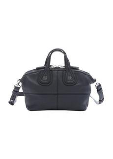 Givenchy navy goatskin micro 'Nightingale' convertible satchel