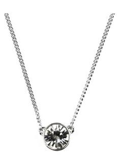 Givenchy Necklace, Swarovski Element Pendant
