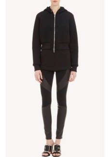 Givenchy Neoprene Cropped Hoodie