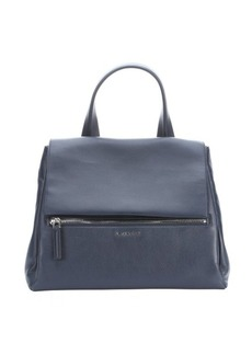 Givenchy night blue leather 'Pandora Pure' convertible top handle bag