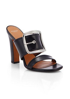 Givenchy Odia Leather Mule Sandals