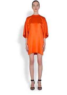 Givenchy Oversized Silk T-Shirt Dress
