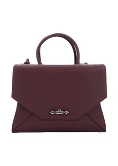 Givenchy oxblood leather medium 'Obsedia' convertible top handle bag