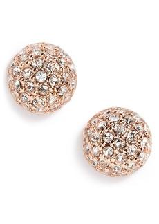 Givenchy Pavé Ball Stud Earrings
